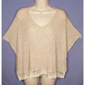 LUSH Women Top Blouse Stretch Relaxed Flowy 1473E2